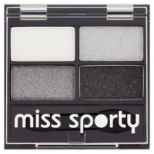 Miss Sporty Studio Colour Quattro eye shadow 404 real smoky / smoky black