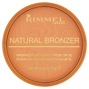 Rimmel London Natural Bronzer Voděodolný bronzující pudr 022 sun bronze 14g