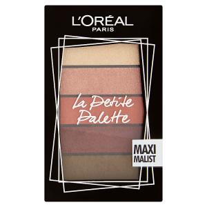 L'Oréal Paris La Petite Palette Maximalist paletka očních stínů 5 x 0,80g