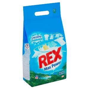 REX prací prášek Amazonia Freshness 54 praní, 3,51kg