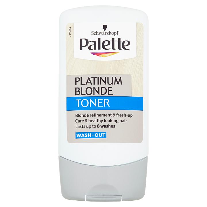 Schwarzkopf Palette barva na vlasy Platinum Blonde Toner 150ml