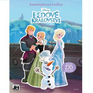 Samolepková knížka Ledové království