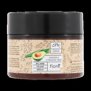 Floré Bylinné tělové máslo avokádo & citronová tráva 150ml