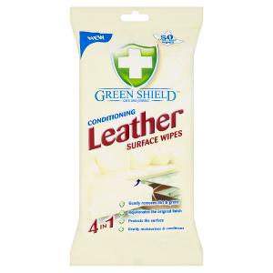 Green Shield Vlhčené ubrousky na kůži 50 ks