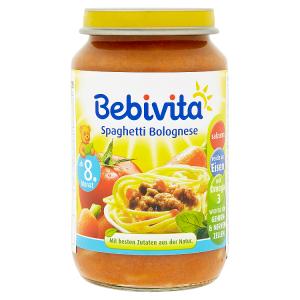 Bebivita Boloňské špagety 220g