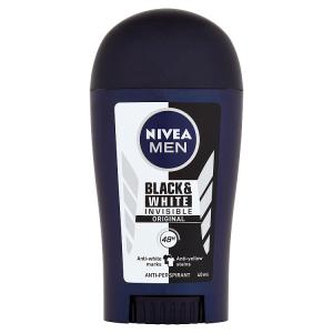 Nivea Men Black & White Invisible Original Tuhý antiperspirant 40ml