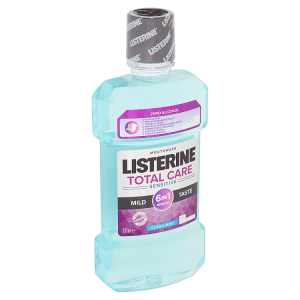 Listerine Total Care Sensitive Mild Taste ústní voda 500ml