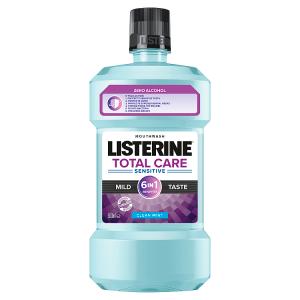 Listerine Total Care Sensitive Mild Taste ústní voda 500ml
