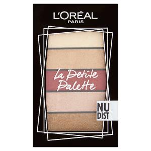 L'Oréal Paris La Petite Palette Nudist paletka očních stínů 5 x 0,80g