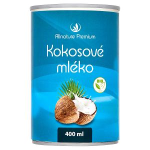 Allnature Premium Bio kokosové mléko 400ml