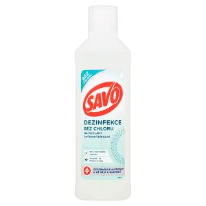 Savo Bez chloru napodlahy antibakteriální 1l