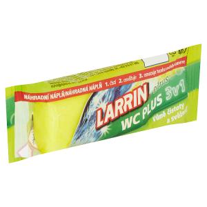 Larrin WC Plus 3v1 citrus náhradní náplň 40g