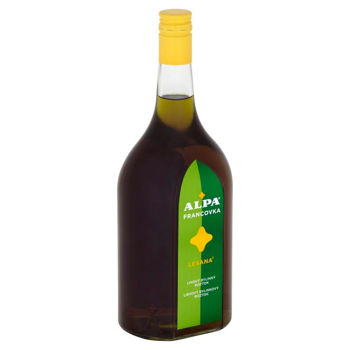 Alpa Lesana Francovka lihový bylinný roztok 1000ml