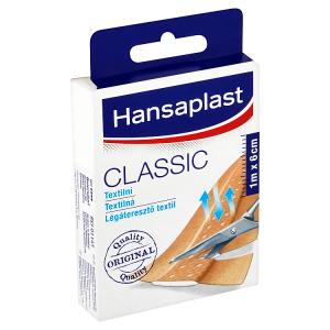 Hansaplast Classic Textilní náplast 1 m x 6 cm