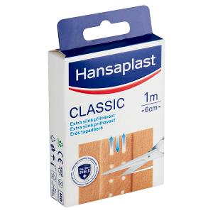 Hansaplast Classic náplast 1 m x 6 cm