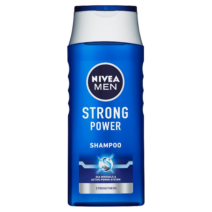 Fotografie Nivea Strong Power šampon pro muže, 250 ml Nivea Men