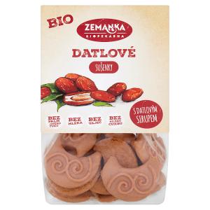 Biopekárna Zemanka Datlové bio sušenky s citronovým olejem 100g