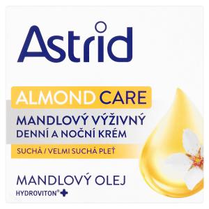 Astrid Almond Care mandlový výživný denní a noční krém 50ml