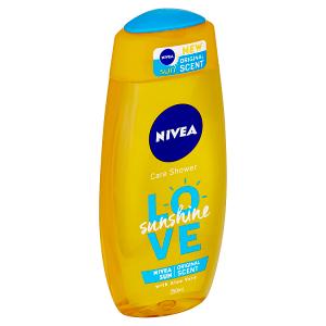 Nivea Love Sunshine Osvěžující sprchový gel 250ml