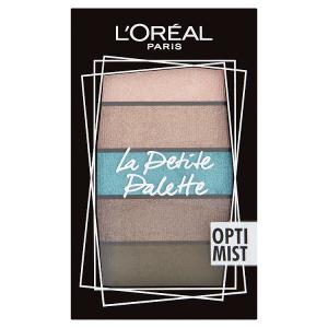 L'Oréal Paris La Petite Palette Optimist paletka očních stínů 5 x 0,80g