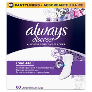 Always Discreet Inkontinenční Intimky Long x 60