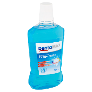 DentaMax Ústní voda bez alkoholu extra fresh 600ml