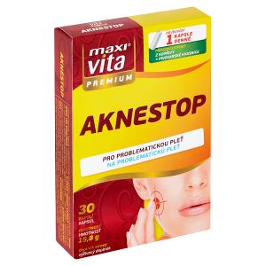 MaxiVita Premium Aknestop 30 kapslí 15,8g