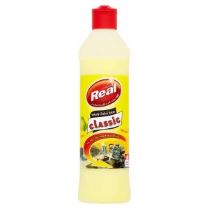 Real Classic Tekutý čisticí krém univerzální lemon 600g