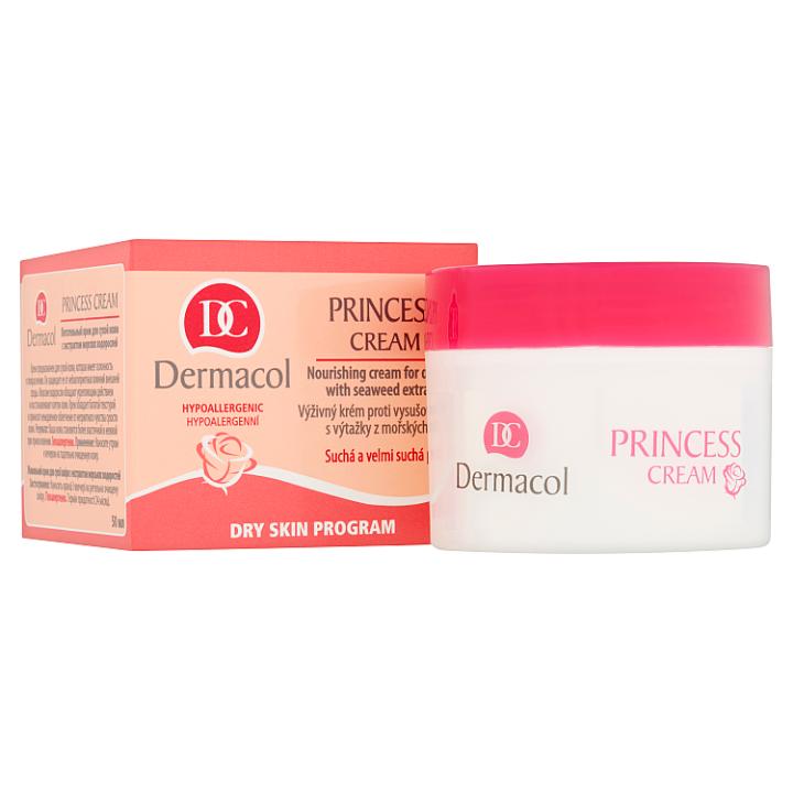 Dermacol Princess cream výživný krém proti vysušování pleti s výtažky z mořských řas 50ml