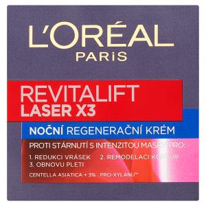 L'Oréal Paris Revitalift Laser X3 noční regenerační krém 50ml