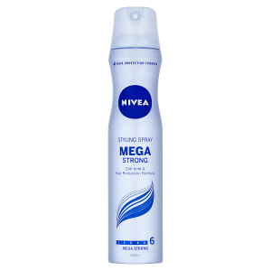 Nivea Mega Strong Lak na vlasy 250ml