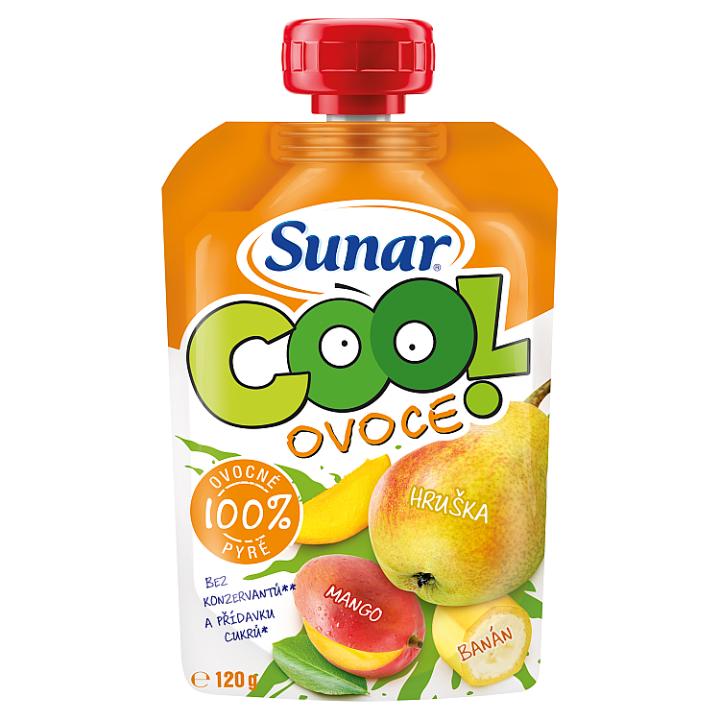 Sunárek Cool ovoce hruška, mango, banán 120g Sunar