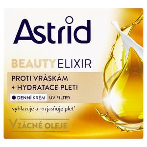 Astrid Beauty Elixir Hydratační denní krém proti vráskám s UV filtry 50ml