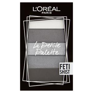 L'Oréal Paris La Petite Palette Fetishist paletka očních stínů 5 x 0,80g