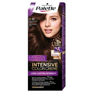 Schwarzkopf Palette Intensive Color Creme barva na vlasy Hřejivě Třpytivě Hnědý 5-46