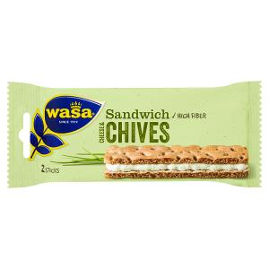 Wasa Sandwich s taveným sýrem a pažitkou 37g
