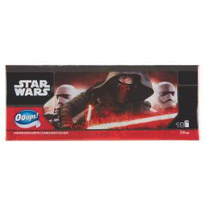 Ooops! Disney Star Wars hygienické kapesníky 4 vrstvy 10 x 8 ks