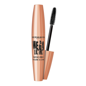 Dermacol Mega lashes Volume and Care řasenka, černá,  11,5 ml