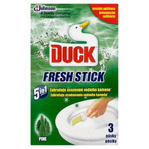 Duck Fresh Stick Lesní gelová páska do WC mísy 3 x 9g