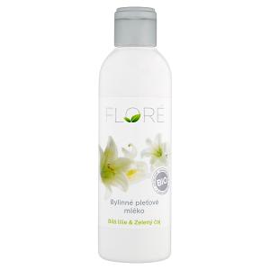 Floré Bylinné pleťové mléko bílá lilie & zelený čaj 200ml