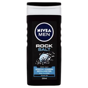 Nivea Men Rock Salt Sprchový gel 250ml