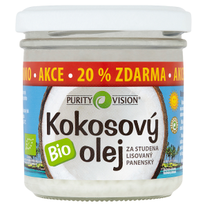 Purity Vision Bio kokosový olej 120ml