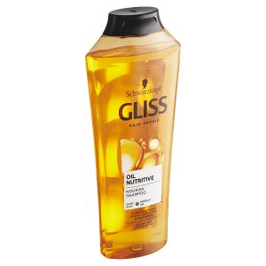 Gliss vyživující šampon Oil Nutritive pro hrubé a namáhané vlasy 400ml