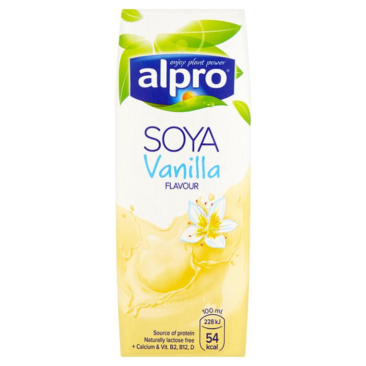 Alpro Sójový nápoj s vanilkovou příchutí 250ml