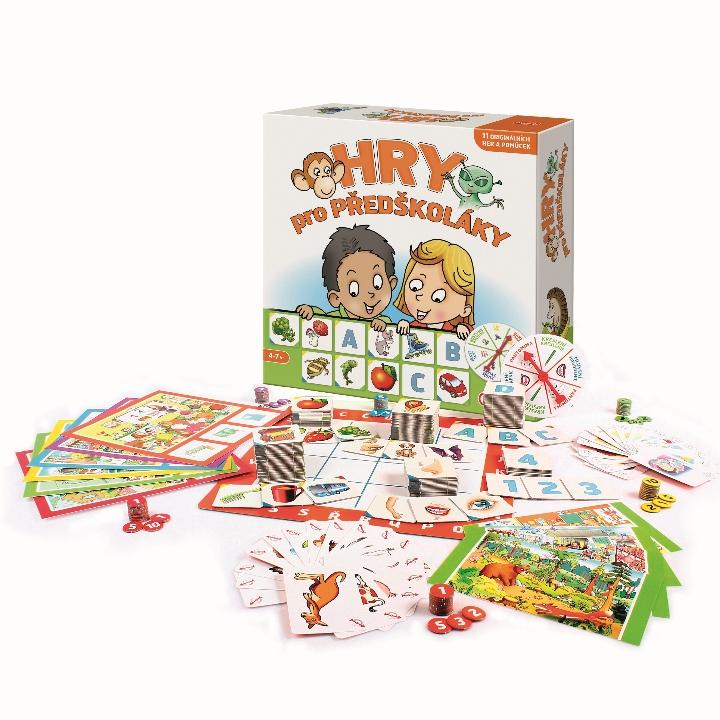 Hry pro předškoláky Soubor 11 edukativních her