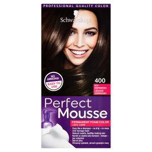 Schwarzkopf Perfect Mousse barva na vlasy Ledové Espresso 400