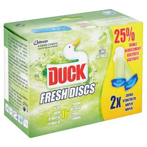 Duck Fresh Discs Čistič WC limetka náplň 2 x 36ml