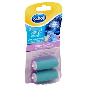 Scholl Velvet Smooth Rotační hlavice jemně drsná s mořskými minerály 2 ks