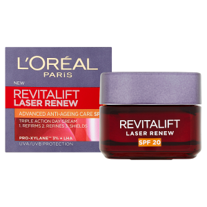 L'Oréal Paris Revitalift Laser Renew denní krém proti stárnutí pleti s OF 20 50ml
