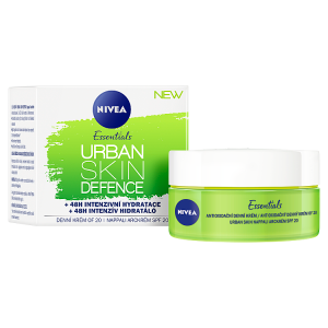 Nivea Essentials Urban Skin Defence Antioxidační denní krém OF 20 50ml